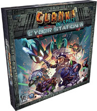 Image: Clank in Space Cyber Station 11 Expansion  - Renegade Game Studio