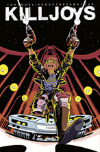 Image: True Lives of the Fabulous Killjoys: National Anthem #3 (cover B - Cloonan) - Dark Horse Comics