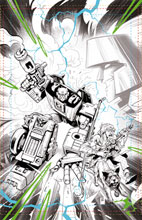 Image: Transformers / Back to the Future #3 (cover A - Juan Samu) - IDW Publishing