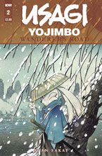Image: Usagi Yojimbo: Wanderer's Road #2 (main cover - Peach Momoko) - IDW Publishing