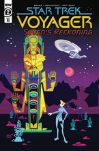 Image: Star Trek: Voyager - Seven's Reckoning #2 (incentive 1:10 cover - Veregge) - IDW Publishing