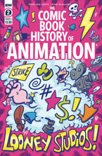 Image: Comic Book History of Animation #2 (cover A - Dunlavey) - IDW Publishing
