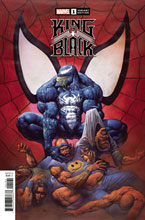 Image: King in Black #1 (incentive 1:100 Hidden Gem cover - Alex Horley) - Marvel Comics