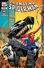 Image: Amazing Spider-Man #55 (LR) (variant Lego cover - Ron Lim) - Marvel Comics
