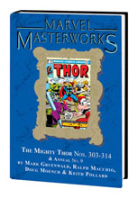 Image: Marvel Masterworks: Mighty Thor Vol. 20 HC  (variant DM cover - Keith Pollard) (304) - Marvel Comics