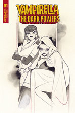 Image: Vampirella: The Dark Powers #1 (incentive 1:20 cover - Momoko B&W) - Dynamite