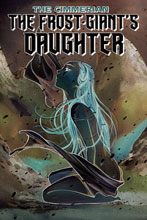 Image: Cimmerian: Frost Giant's Daughter #1 (incentive 1:30 cover - Negative Momoko) - Ablaze