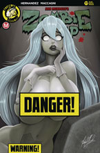 Image: Zombie Tramp #77 (cover D - McComb risque) - Action Lab - Danger Zone