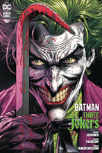 Image: Batman: Three Jokers #1 (DFE signed - Johns) - Dynamic Forces