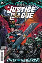 Image: Justice League #53 (cover A - Sharp) (DFE signed) - Dynamic Forces