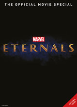 Image: Marvel Studios Eternals Official Movie Special  (newsstand cover) - Titan Comics