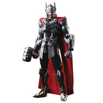 Image: Marvel Universe Variant Bring Arts Action Figure: Thor  - Square Enix Inc