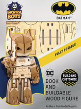 Image: Incredibuilds DC Incredibots Model: Batman  - Insight Editions