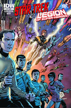 Image: Star Trek / Legion of Superheroes #2 (10-copy incentive cover) - IDW Publishing