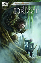 Image: Dungeons & Dragons: Drizzt #4 (10-copy incentive cover) - IDW Publishing