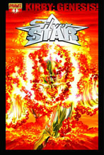 Image: Kirby: Genesis Silver Star #1 (25-copy sketch incentive cover) - D. E./Dynamite Entertainment