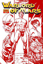 Image: Warlord of Mars #14 (20-copy Sadowski red incentive cover) - Dynamite
