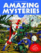 Image: Amazing Mysteries: Bill Everett Archives Vol. 01 HC  - Fantagraphics Books