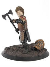 Image: Game of Thrones Tyrion in Battle Statue  - Dark Horse Comics