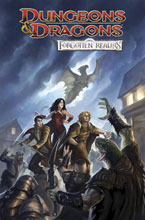 Image: Dungeons & Dragons: Forgotten Realms HC  - IDW Publishing