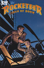 Image: Rocketeer: Cargo of Doom #4 (10-copy incentive cover) - IDW Publishing