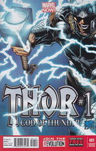 Image: Thor: God of Thunder #1 (Now) (Quesada variant cover) - Marvel Comics