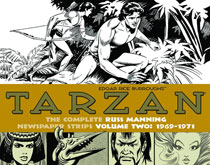 Image: Tarzan: The Complete Russ Manning Newspaper Strips Vol. 02: 1969-1971 HC  - IDW Publishing