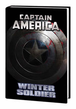 Image: Captain America: Winter Soldier HC  (movie cover) - Marvel Comics