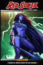 Image: Red Sonja Vol. 12: Swords Against The Jade Kingdom SC  - Dynamite