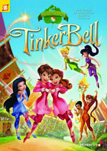 Image: Disney Fairies Vol. 13: Tinker Bell and the Pixie Hollow Games SC  - Papercutz