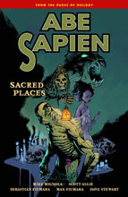 Image: Abe Sapien Vol. 05: Sacred Places SC  - Dark Horse Comics