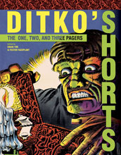 Image: Ditko's Shorts HC  - IDW Publishing