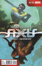 Image: Avengers and X-Men: Axis #6 (Ribic variant cover - Inversion) - Marvel Comics