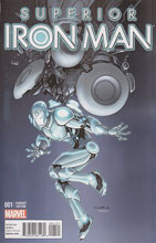Image: Superior Iron Man #1 (variant cover - Cinar Design) - Marvel Comics
