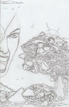 Image: George Perez' Sirens #2 (variant incentive cover - Pencils Right) (50-copy) - Boom! Studios