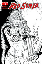 Image: Red Sonja Vol. 02 #17 (Isaacs b&w variant incentive cover - 17041) (25-copy) - Dynamite