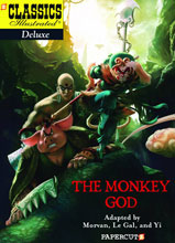 Image: Classics Illustrated Deluxe Vol. 12: The Monkey God HC  - Papercutz