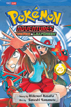 Image: Pokemon Adventures Vol. 25: Firered & Leafgreen SC  - Perfect Square