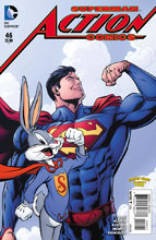 Image: Action Comics #46 (DCU Looney Tunes variant cover) - DC Comics