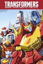 Image: Transformers: More Than Meets the Eye Vol. 01 Box Set SC  - IDW Publishing