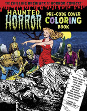 Image: Haunted Horror Pre-Code Cover Coloring Book SC  - IDW Publishing