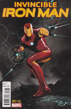 Image: Invincible Iron Man #3 (variant cover - Epting) - Marvel Comics