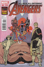 Image: All-New, All-Different Avengers #1 (Cliff Chiang Inhumans 50th Anniversary variant cover - 00121) - Marvel Comics