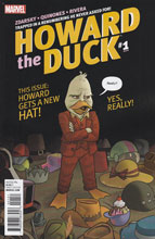 Image: Howard the Duck #1 (Quinones variant cover - 00151) - Marvel Comics