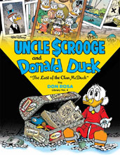 Image: Walt Disney Uncle Scrooge and Donald Duck: The Last of the Clan McDuck HC  - Fantagraphics Books