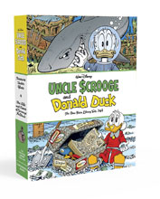 Image: Uncle Scrooge and Donald Duck: The Don Rosa Library Vols. 3 & 4 Box Set HC  - Fantagraphics Books