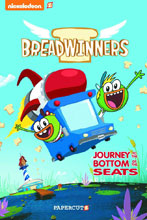 Image: Breadwinners Journey to the Bottom of the Seats Vol. 01 HC  - Papercutz