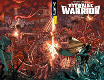 Image: Wrath of the Eternal Warrior #1 (cover A - Wraparound) - Valiant Entertainment LLC