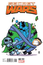 Image: Secret Wars #9 (variant cover - Skottie Young) - Marvel Comics