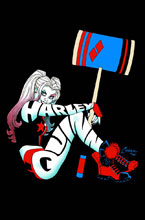 Image: Harley Quinn Vol. 06: Black, White and Red All Over HC  - DC Comics